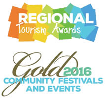 2016 GOLD Regional Tourism Award